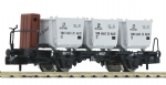 823702 Scale: 1:160, N Gauge *DB BTs50 Container Carrying Wagon III